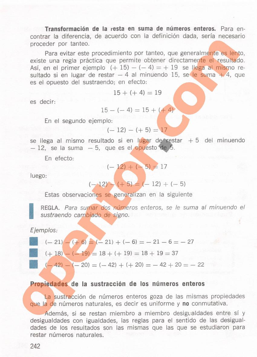 Aritmética de Repetto 1 - Página 242