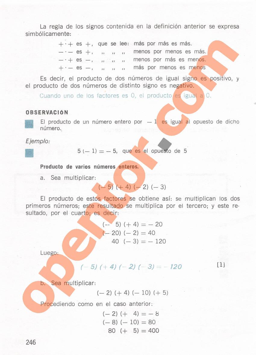 Aritmética de Repetto 1 - Página 246