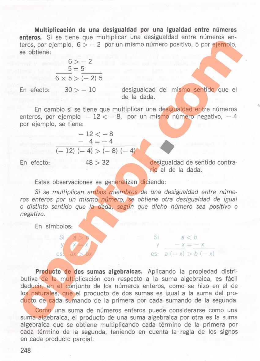 Aritmética de Repetto 1 - Página 248
