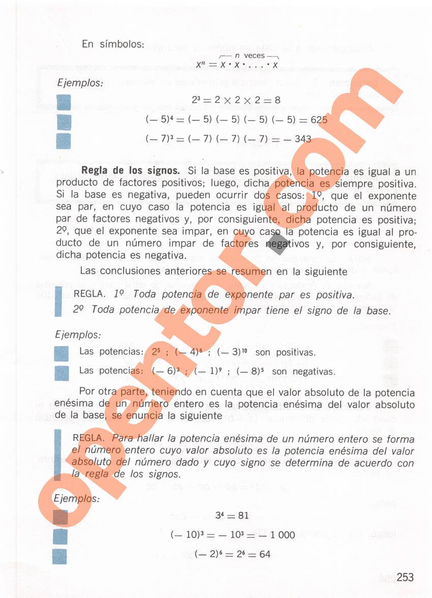 Aritmética de Repetto 1 - Página 253