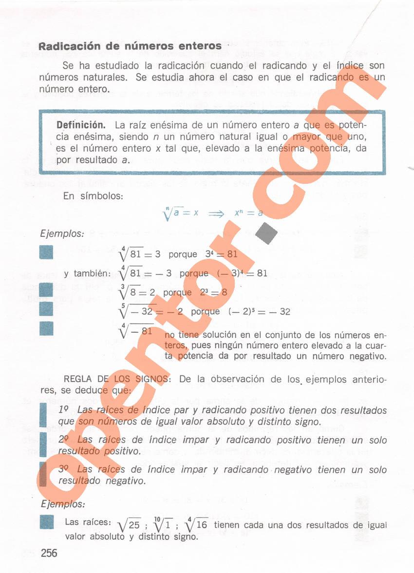 Aritmética de Repetto 1 - Página 256