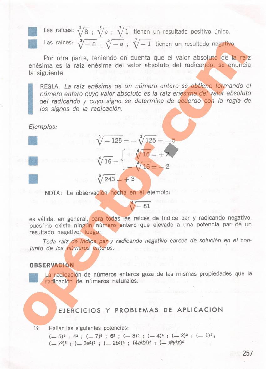 Aritmética de Repetto 1 - Página 257