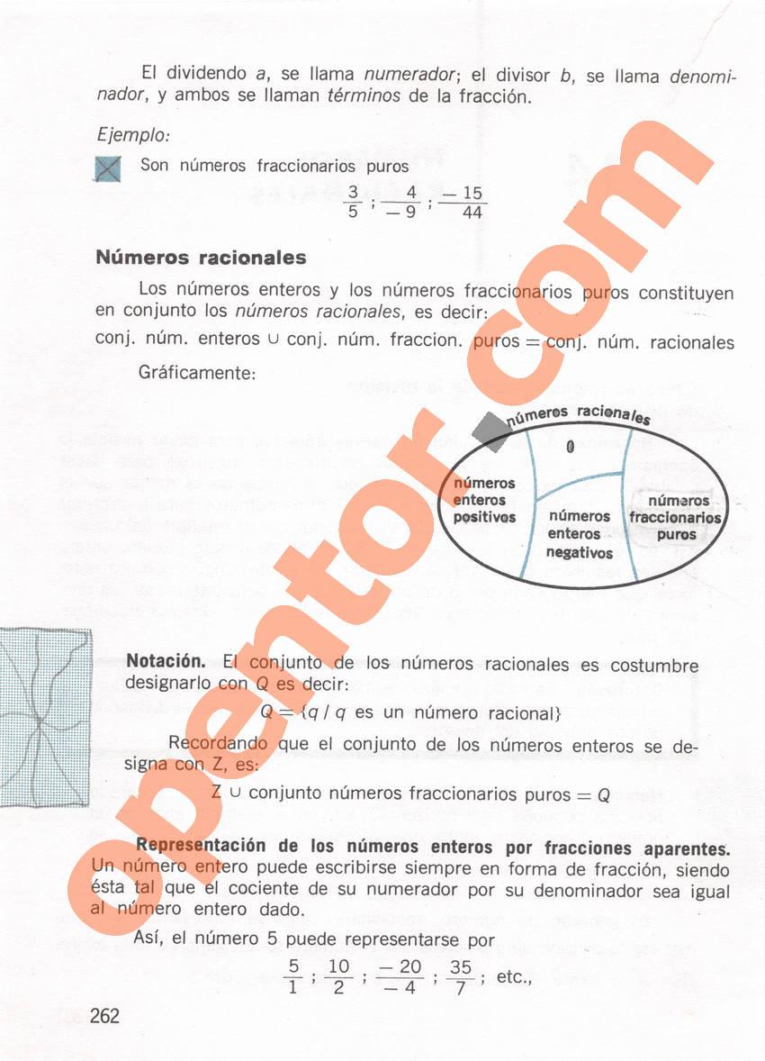 Aritmética de Repetto 1 - Página 262