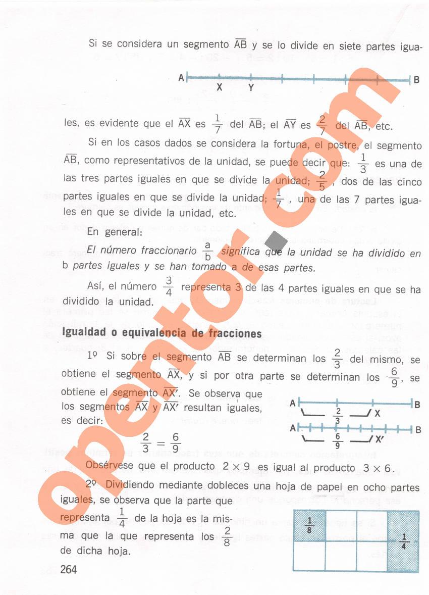 Aritmética de Repetto 1 - Página 264