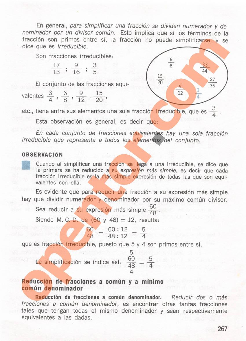 Aritmética de Repetto 1 - Página 267