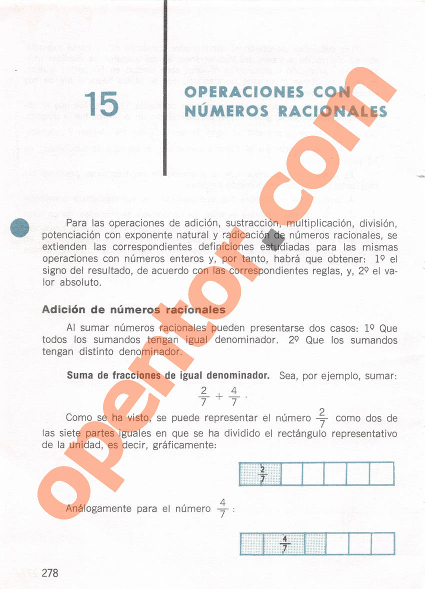 Aritmética de Repetto 1 - Página 278