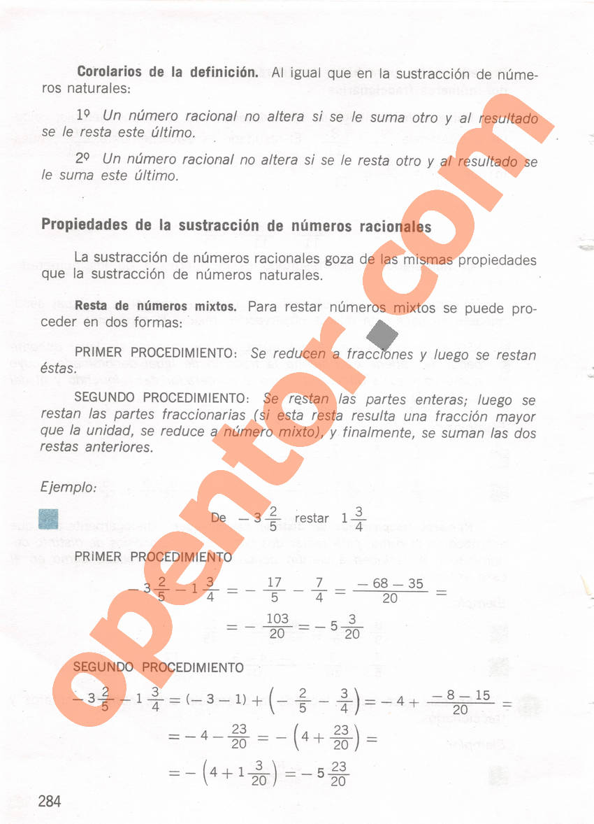 Aritmética de Repetto 1 - Página 284
