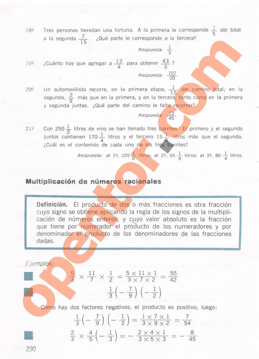 Aritmética de Repetto 1 - Página 290