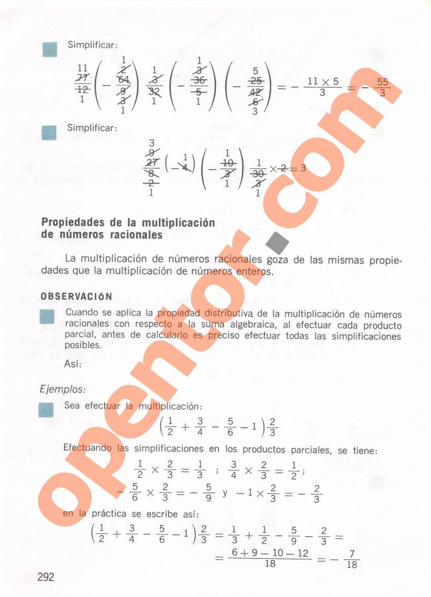 Aritmética de Repetto 1 - Página 292