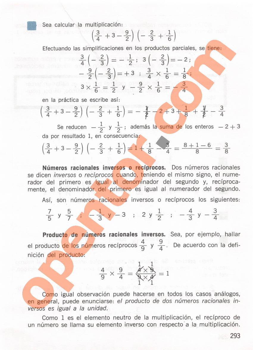 Aritmética de Repetto 1 - Página 293