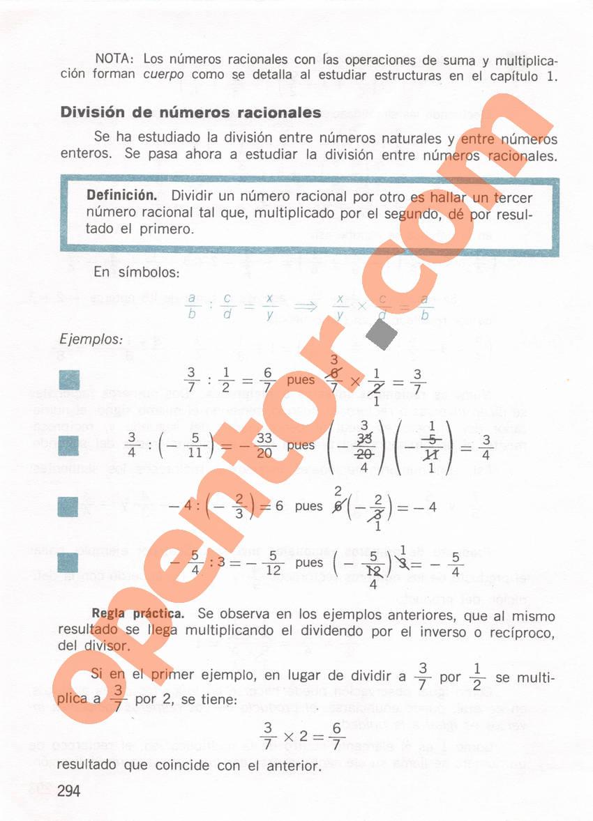 Aritmética de Repetto 1 - Página 294