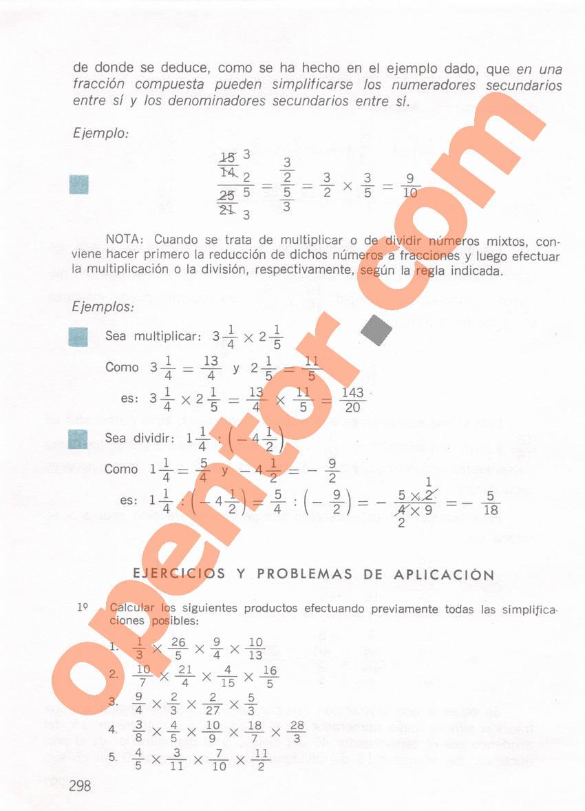 Aritmética de Repetto 1 - Página 298