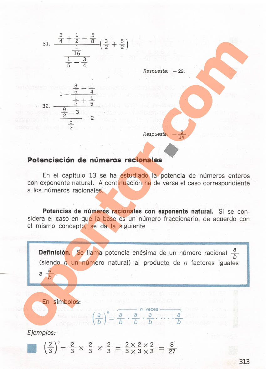 Aritmética de Repetto 1 - Página 313