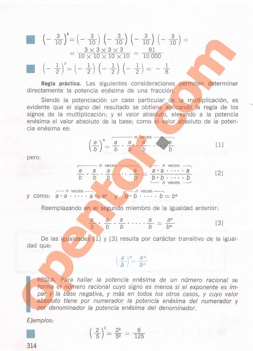Aritmética de Repetto 1 - Página 314
