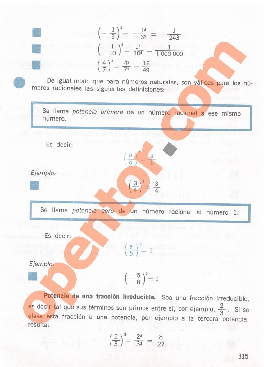 Aritmética de Repetto 1 - Página 315