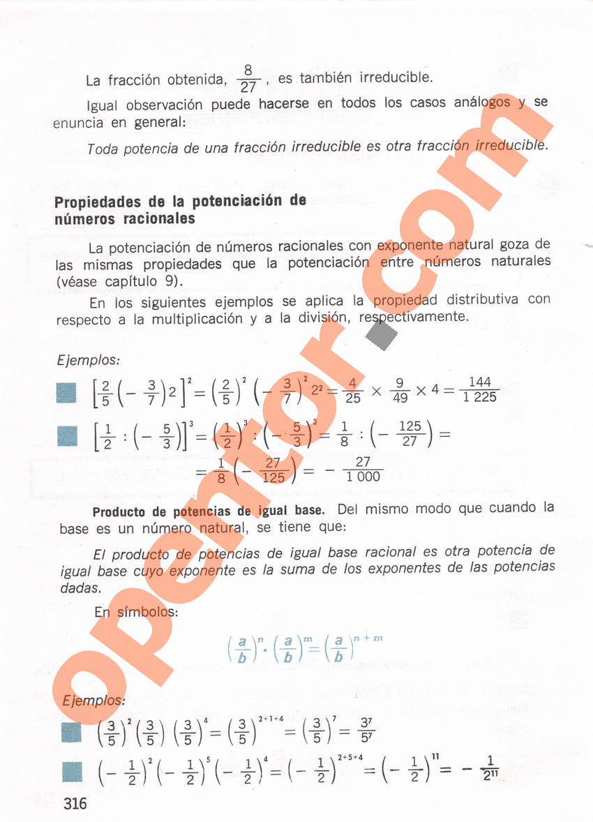 Aritmética de Repetto 1 - Página 316