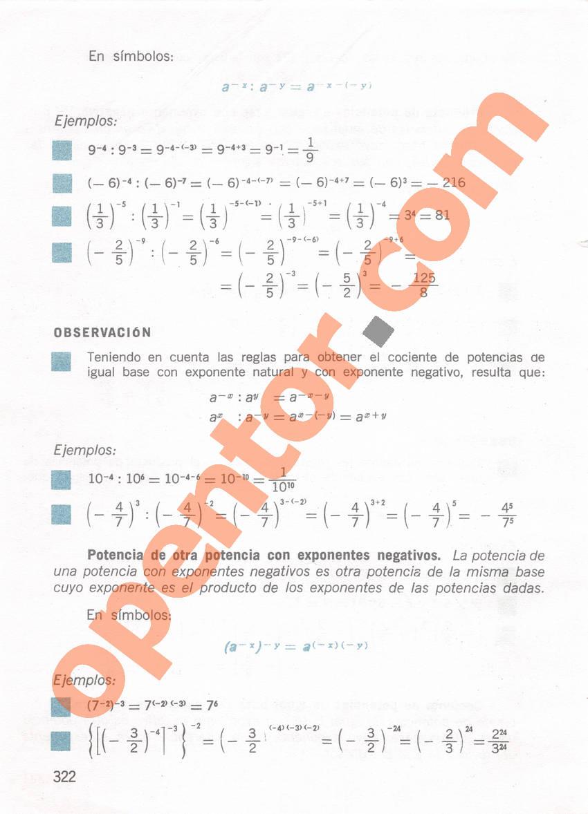 Aritmética de Repetto 1 - Página 322
