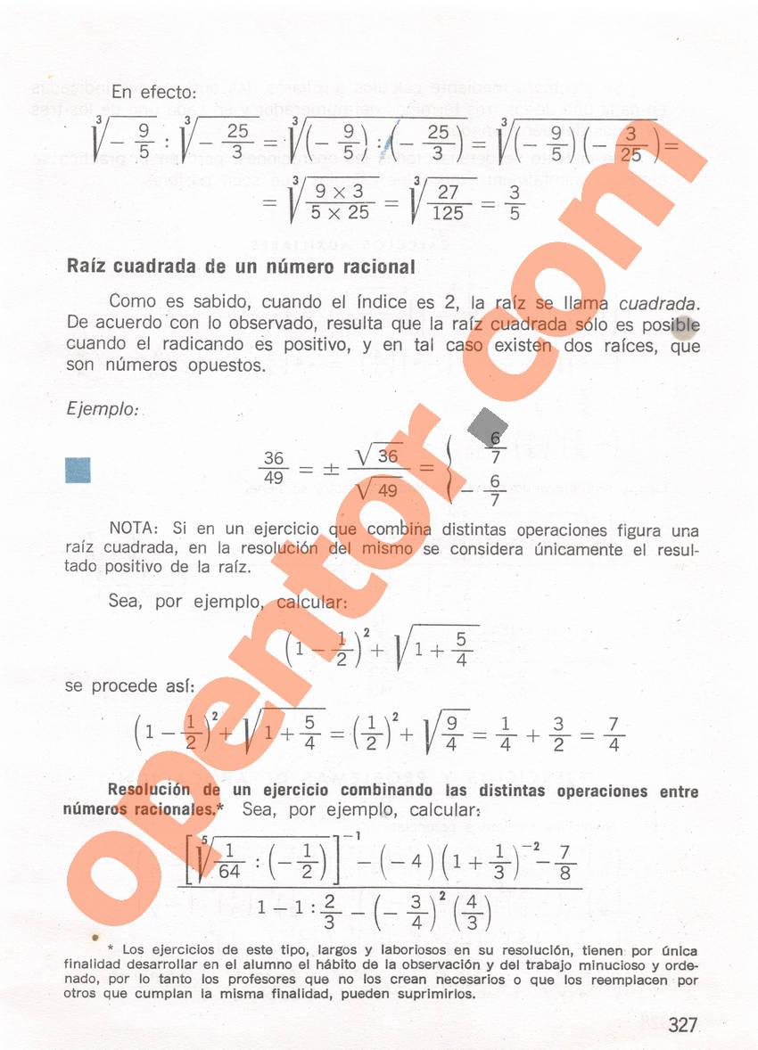 Aritmética de Repetto 1 - Página 327