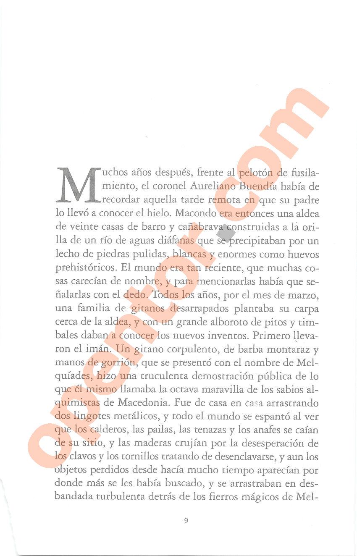 Cien años de soledad de Gabriel García Márquez - Página 9